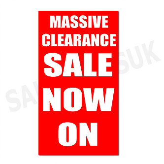 333x333 Sale Posters Amp Sale Signs Bury Sale Posters For Shops Massive