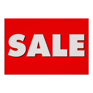 324x324 Sale Signs Posters