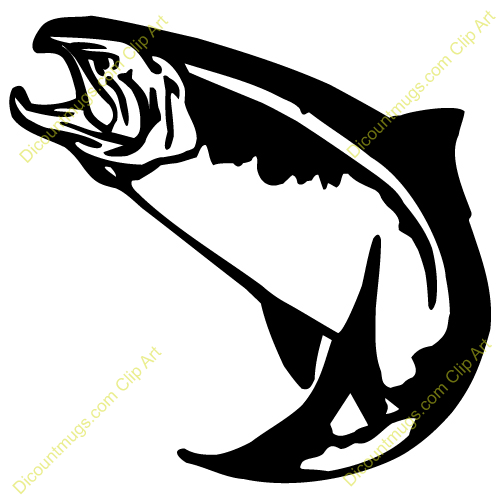 500x500 Salmon Clipart Trout