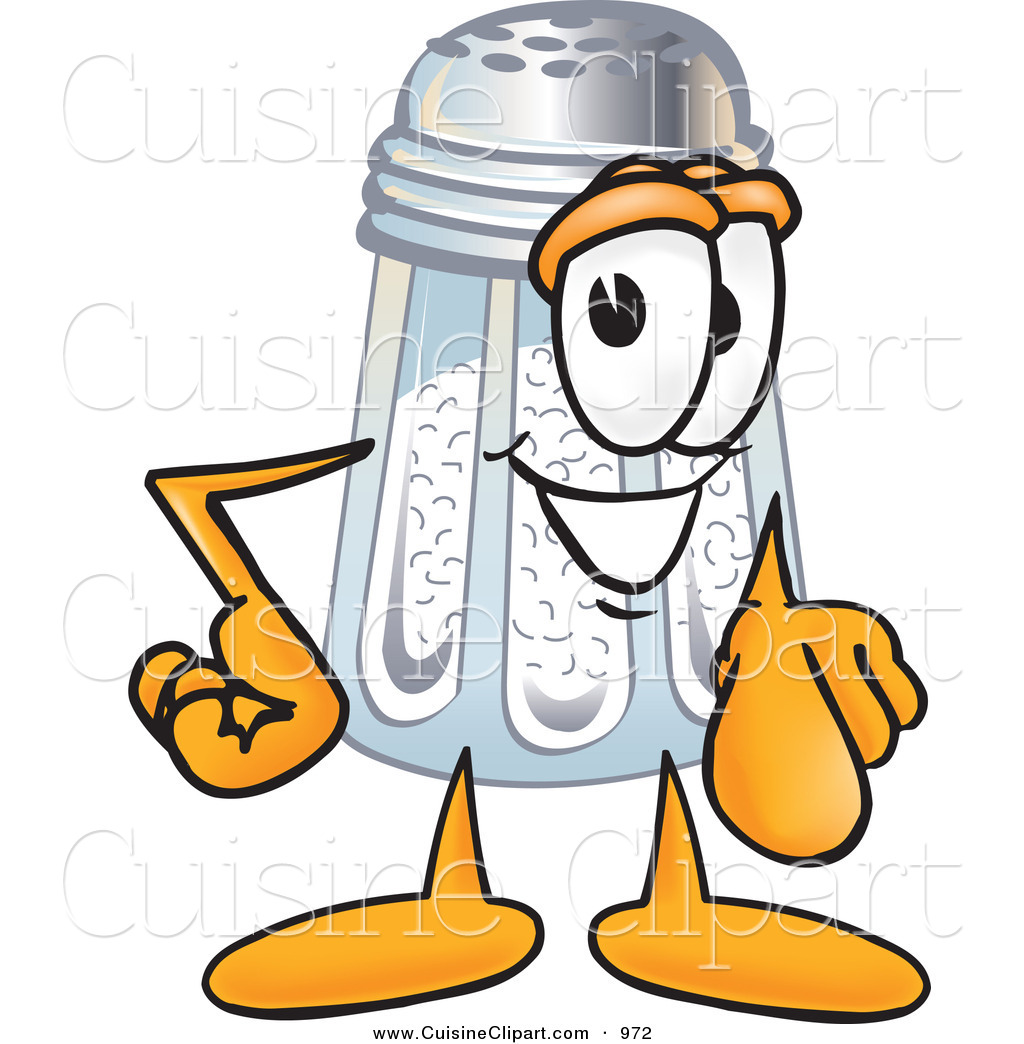 Collection of Salt shaker clipart
