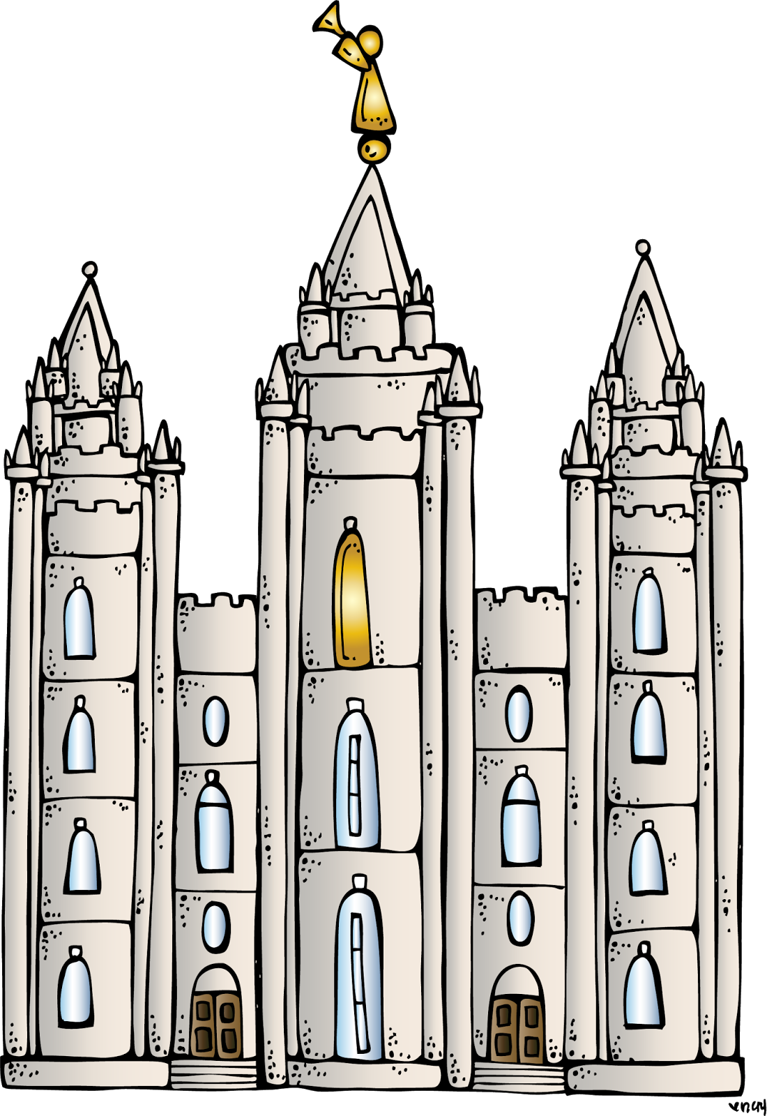 1100x1600 Lds Temple Clip Art
