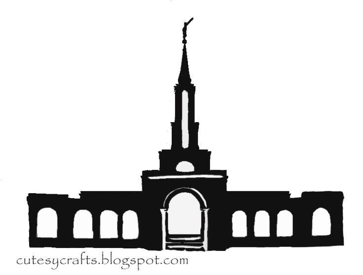 736x558 37 Best Temple Silhouette Images Mormon Temples