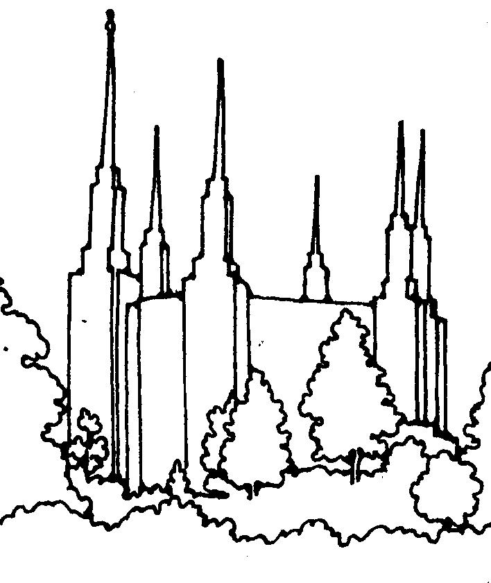708x840 Lds Temples Clipart