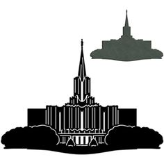 236x236 Salt Lake Temple Silhouette