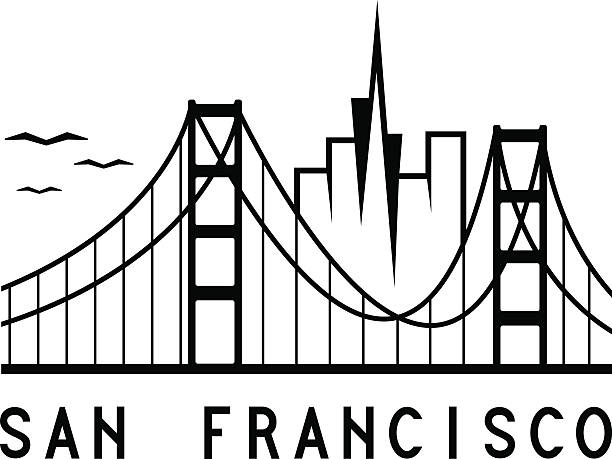 612x459 San Francisco Clipart San Francisco Skyline Clipart