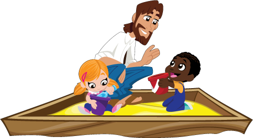 500x274 Jesus In Jeans Junior Sand Box Fun Creative For Kids