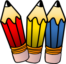 260x251 Pencils Clip Art