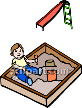 266x350 Playground Clipart Sandbox