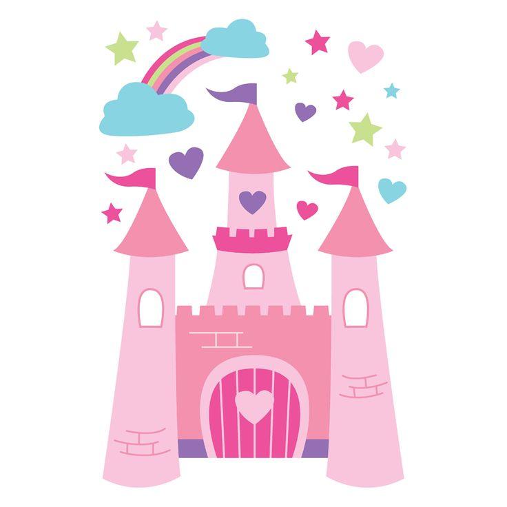 736x736 Castle Clipart Cute