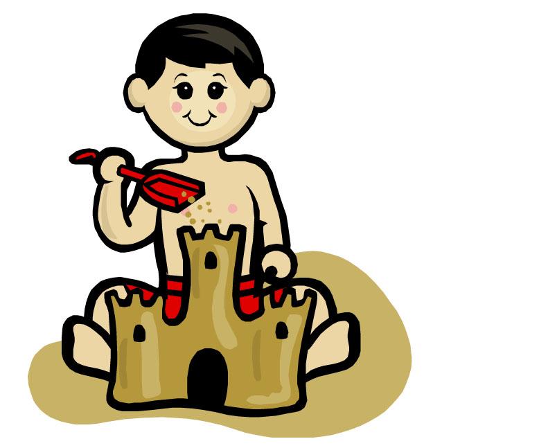 778x647 Sand Castle Clip Art Building Sandcastles Clipart 4