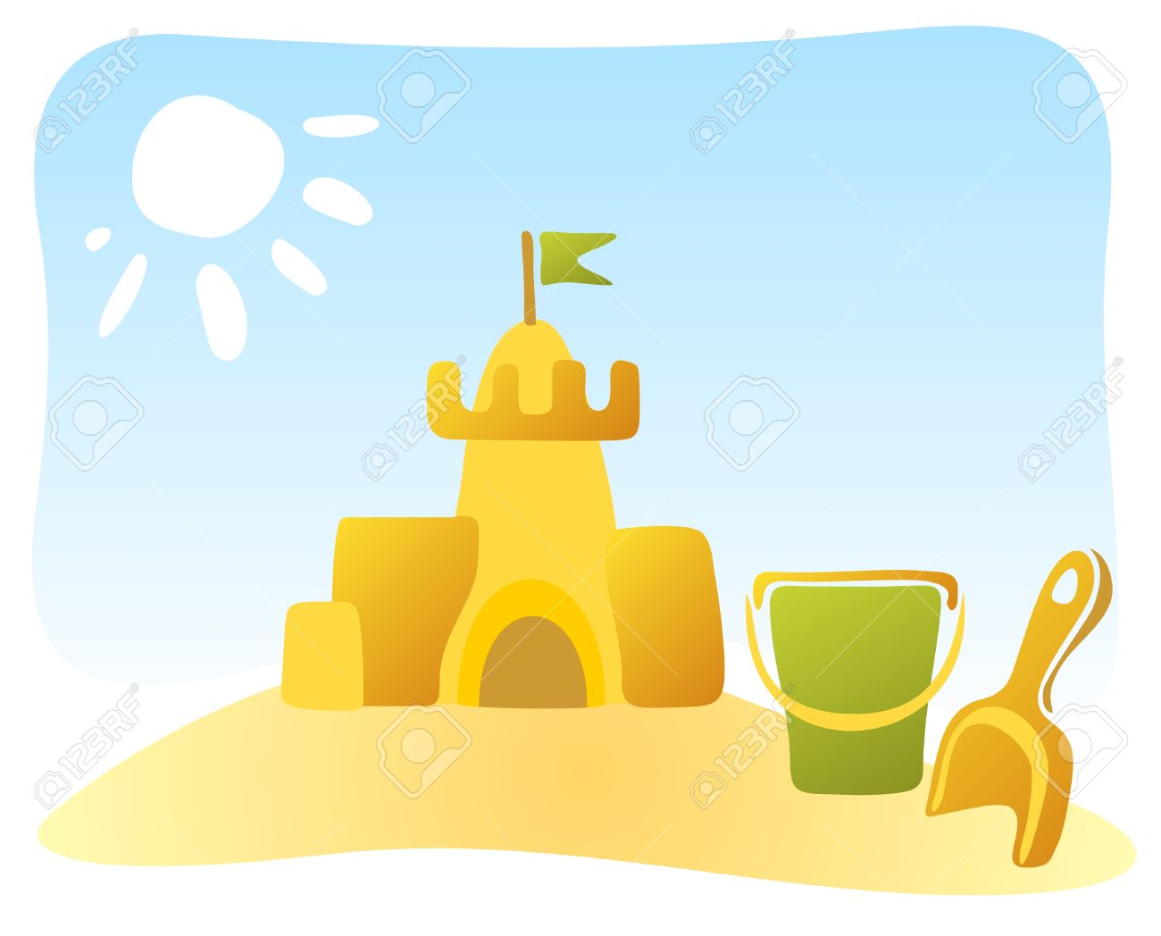 1300x1048 Pictures Of Sandcastles Clip Art Christmas Photo World Christmas