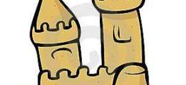 272x125 Sand Castle Clip Art Clipart Collection On Cartoon Sand Castle