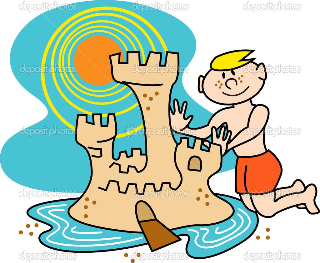1024x843 Beach Clipart Sandcastle