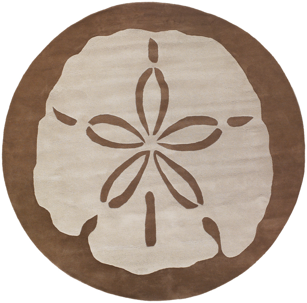1013x1000 Thomaspaul Rug Sand Dollar Taupe Round, Available