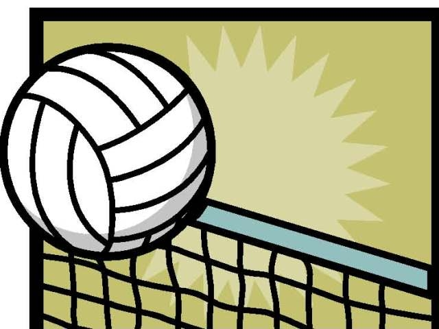 640x480 Volleyball Clipart