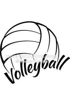 236x354 Volleyball Logo Design Templates