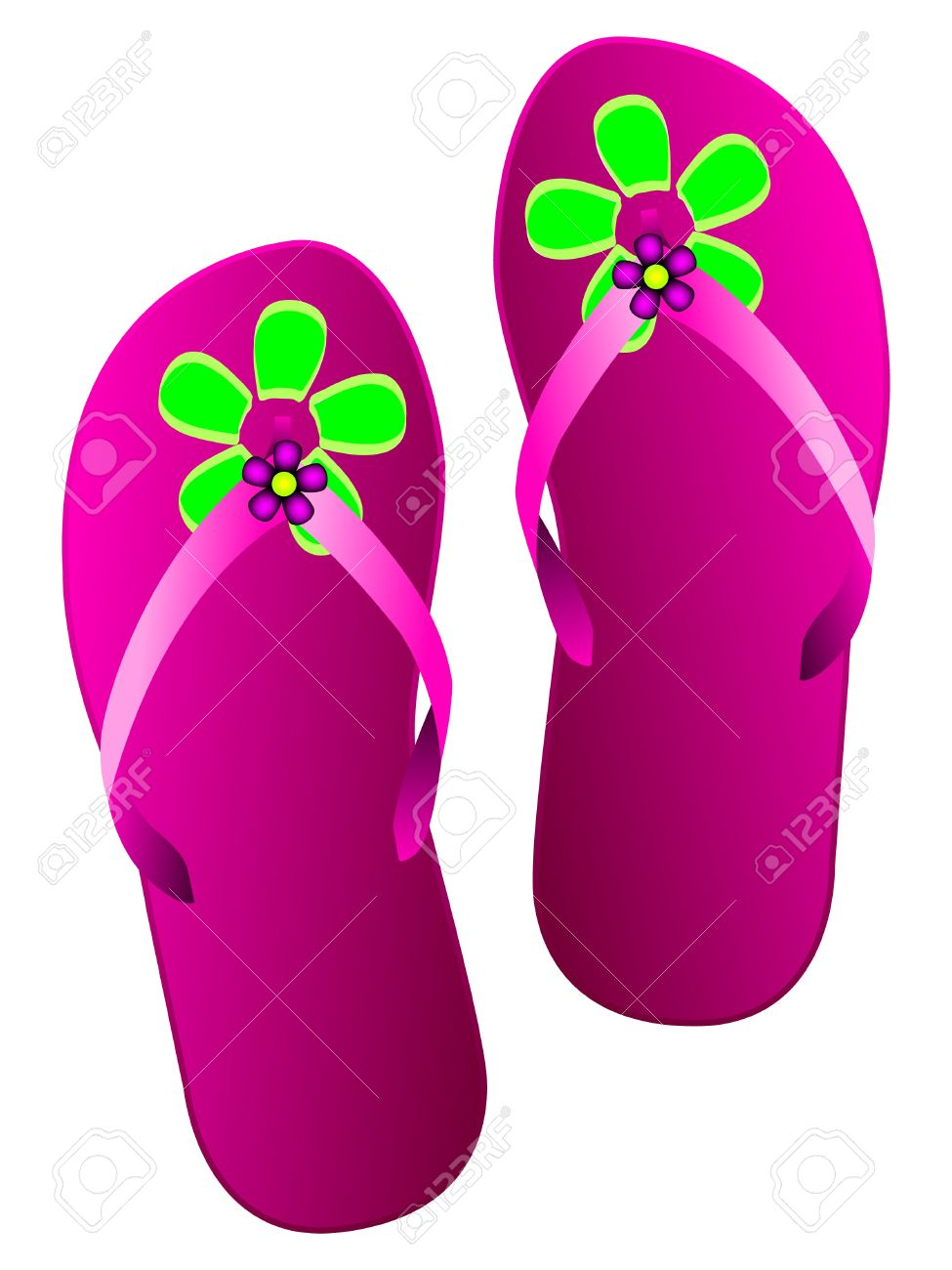 975x1300 Sandal Clipart Slipper