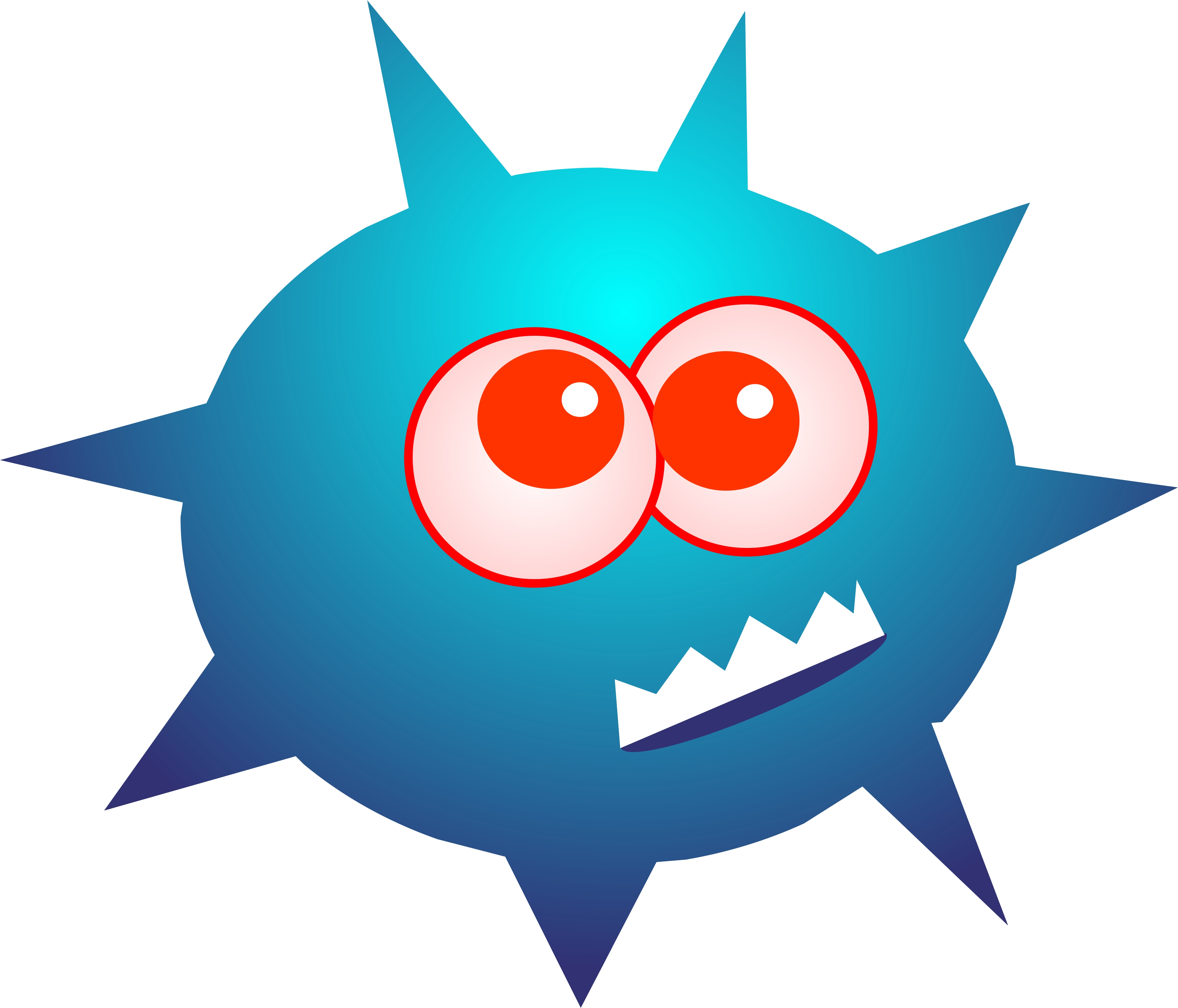 3819x3269 Bacteria Clipart Happy