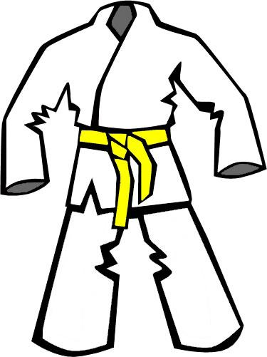 375x501 Taekwondo Belt Cliparts 265737