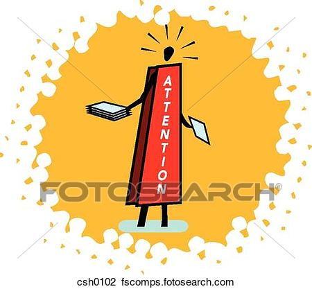 450x417 Clip Art Of Sandwich Board Csh0102