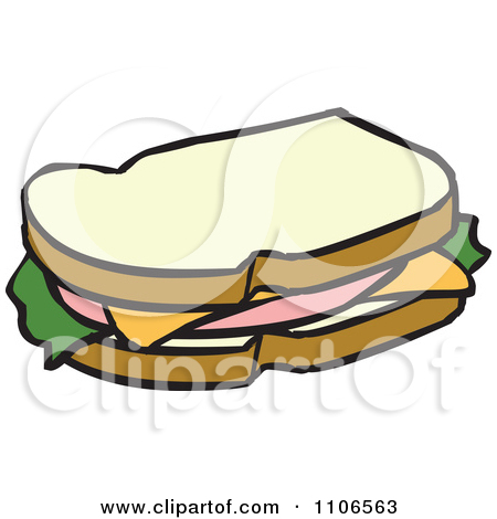 450x470 Cute Sandwich Drawing Clipart Panda