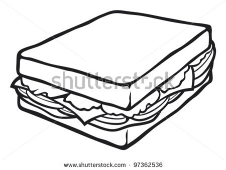 450x340 Drawn Sandwich