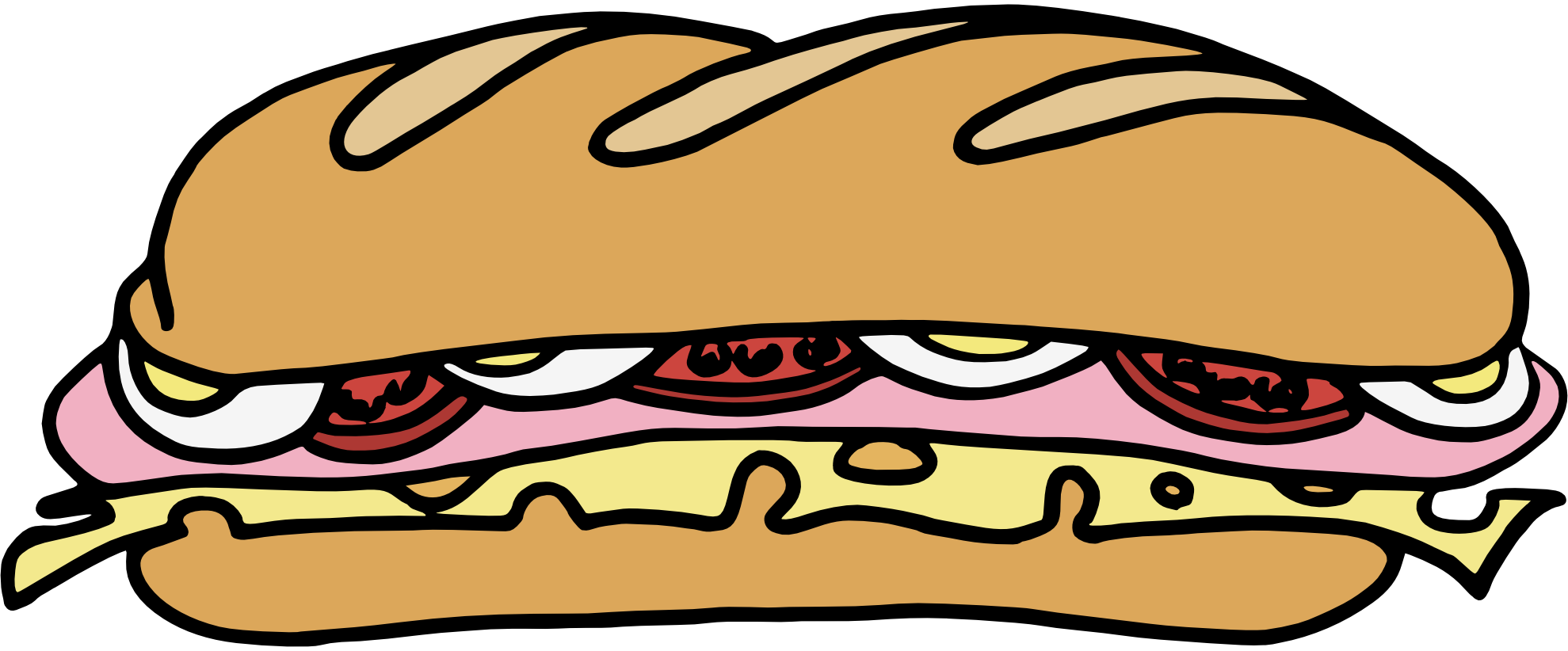1979x822 Drawn Sandwich Cheese Sandwich