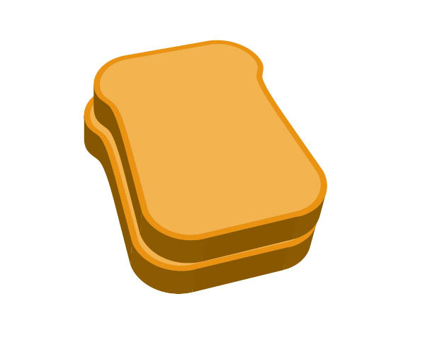 600x480 Make A Delicious Sandwich With Easy 3d Illustration Techniques