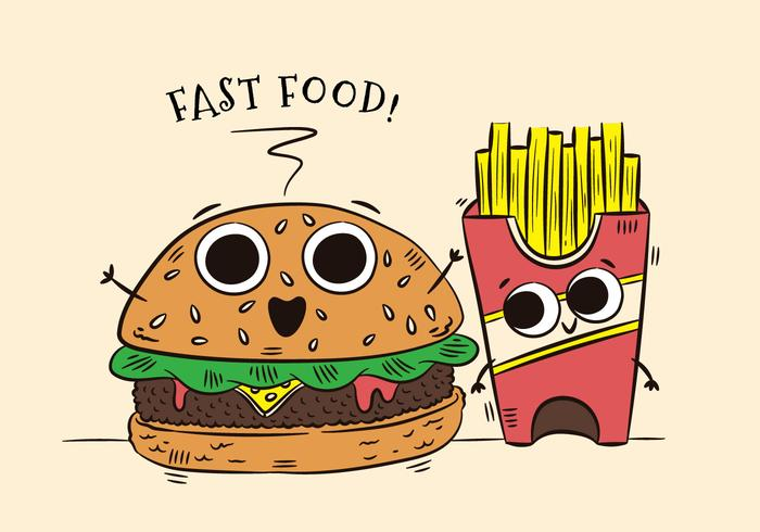 700x490 Burger Free Vector Art