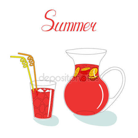 449x449 Sangria Drink Stock Vectors, Royalty Free Sangria Drink
