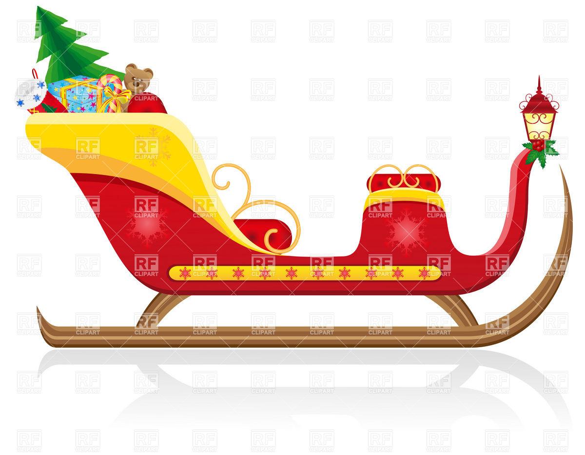 1200x933 Santa Claus Christmas Sleigh Gifts