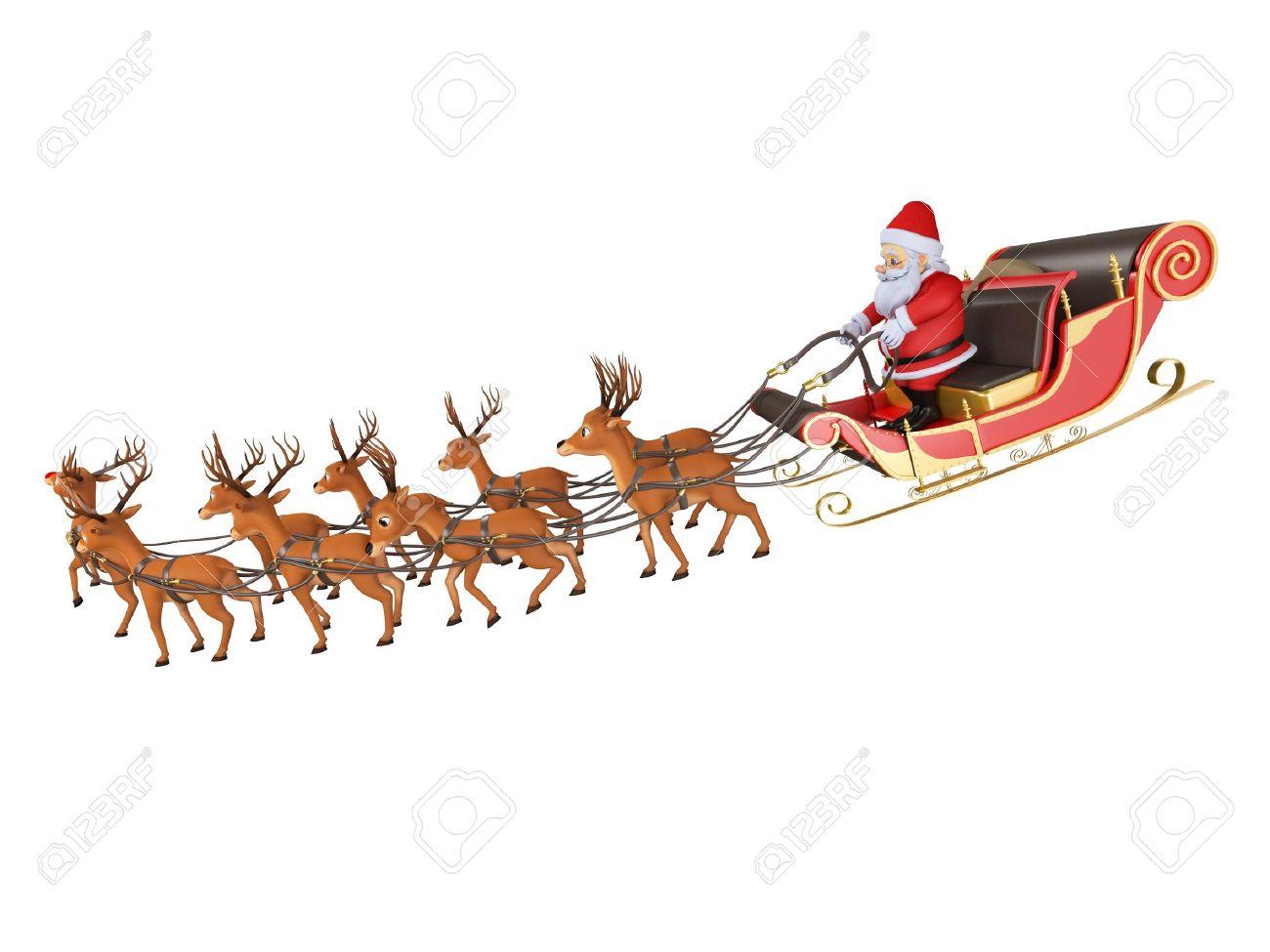 1300x975 Santa Flying In His Sleigh Skilsaw 5250