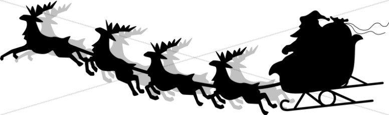 Santa And His Sleigh Pictures | Free download on ClipArtMag