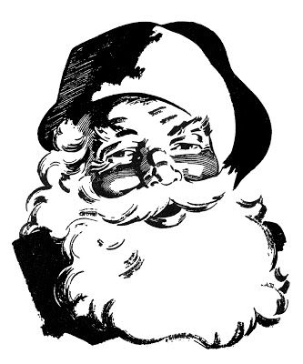 Santa Beard Clipart