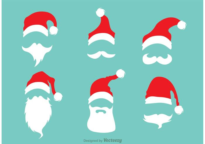 700x490 Red Santa Hats With Beards
