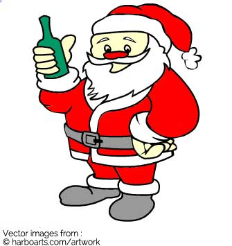 335x355 Download Santa With Beer