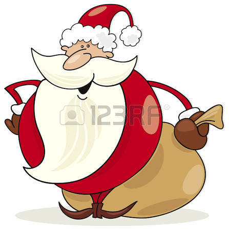 447x450 192,841 Santa Stock Vector Illustration And Royalty Free Santa Clipart