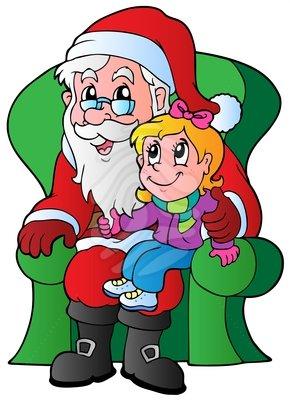 290x400 Santa Claus Clipart