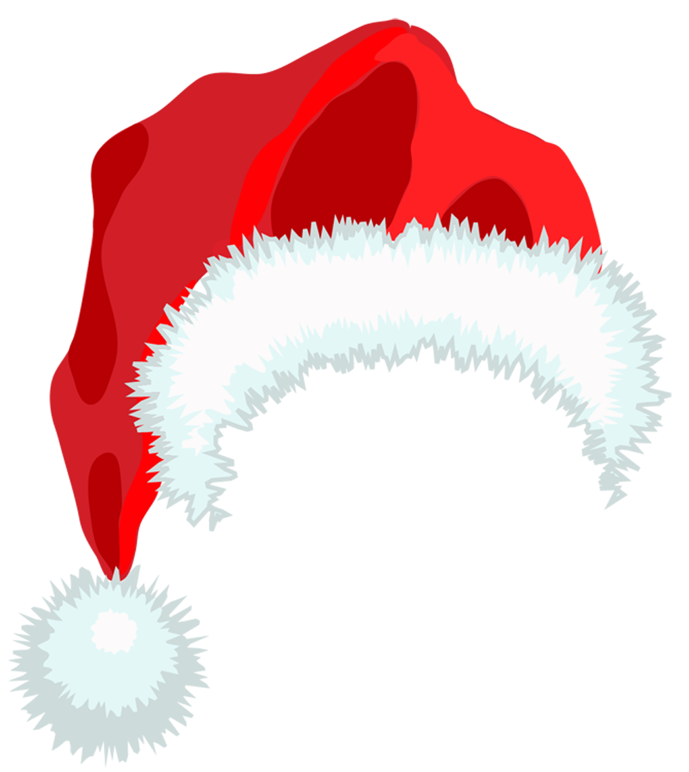1000x1121 Santa Hat Outline Clip Art