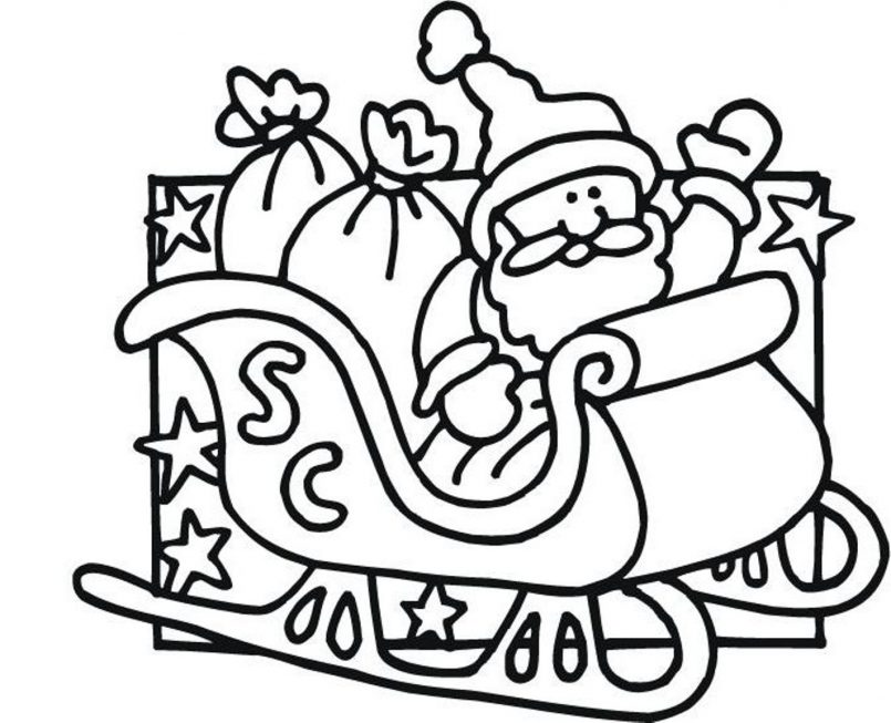 805x653 Coloring Pages Kids Jolly Santa Claus Coloring Santa Claus