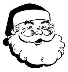 236x249 Retro Christmas Clip Art