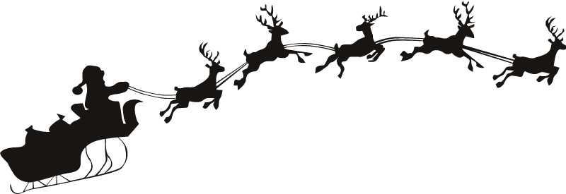 800x275 Free Santa Claus Clipart