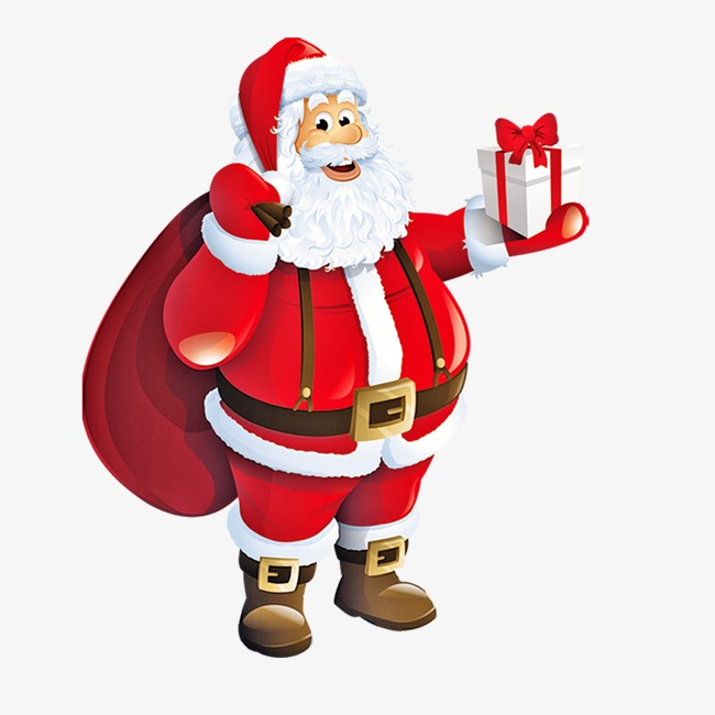 650x650 Cartoon Santa Claus Png, Vectors, Psd, And Icons For Free Download