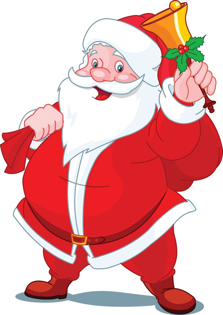 736x1039 Cartoon Santa Clipart