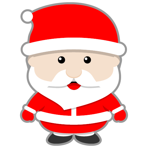 500x500 Cartoon Clipart Santa Claus