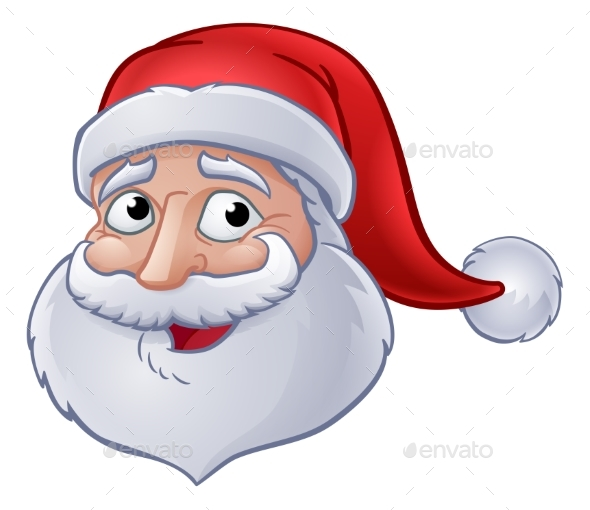 590x510 Christmas Santa Claus Cartoon By Krisdog Graphicriver