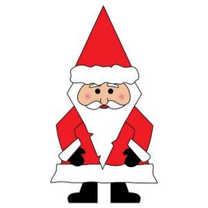 300x300 Free Santa Clip Art Image