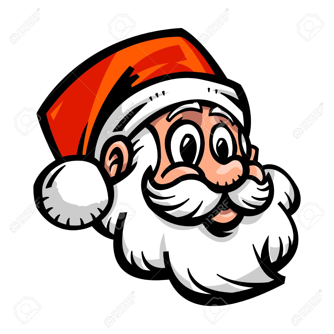 1300x1300 Santa Claus Cartoon Royalty Free Cliparts, Vectors, And Stock