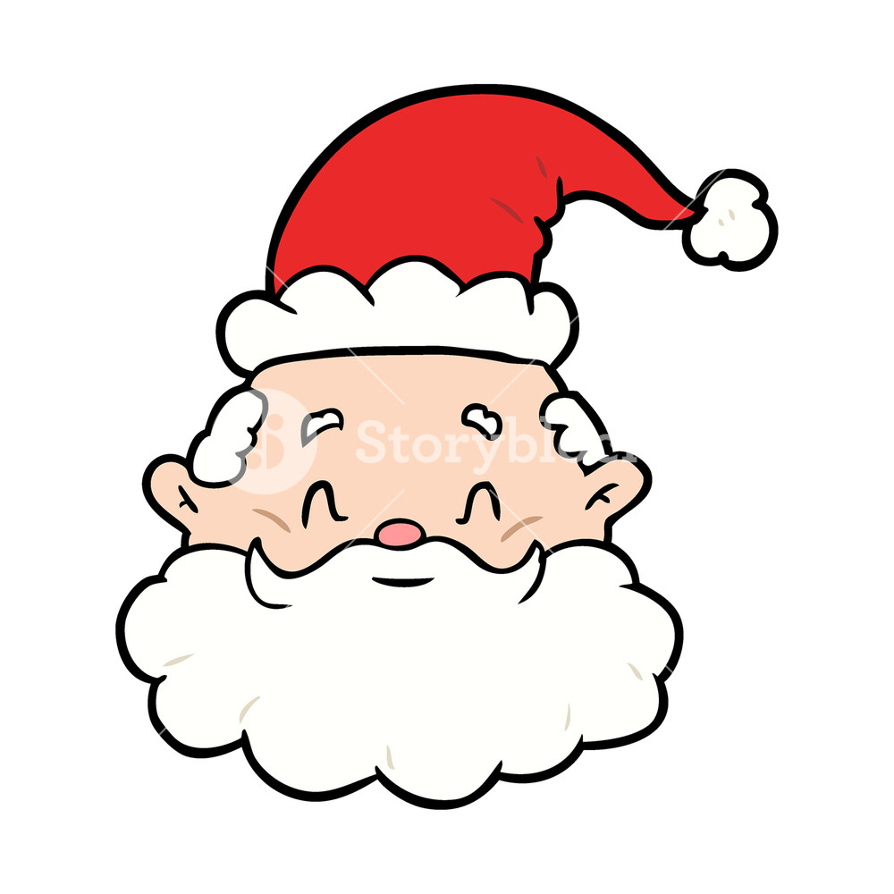 1000x1000 Cartoon Santa Claus Dress Royalty Free Stock Image