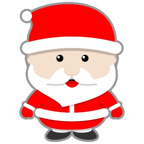 500x500 Free Santa Claus Cliprt Image